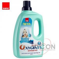 Пятновыводитель для детского белья SANO OXYGEN Baby 3 л