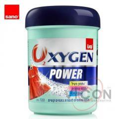 Средство для выведения пятен 2 в 1 SANO OXYGEN