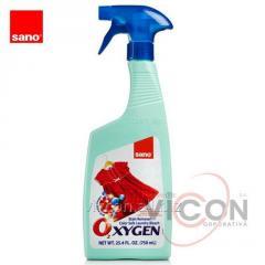 Пятновыводитель спрей SANO OXIGEN, 750 ml.