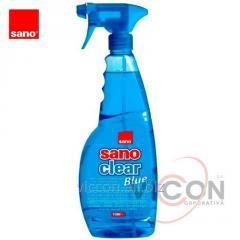 SANO CLEAR BLUE Средство для стёкол, 750 мл