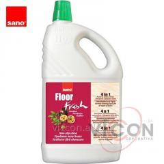 Средство для мытья полов Sano Floor Fresh, 2 л.