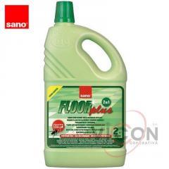 Средство для мытья полов от муравьёв и тараканов Sano Floor Plus, 2 л