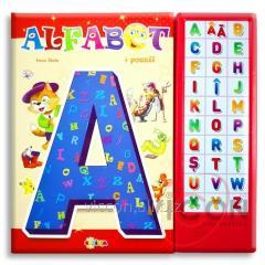 Книга со звуками для детей - АЛФАВИТ