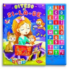 Книга со звуками для детей - ЧИТАЮ ПО СЛОГАМ