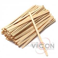 Палочки для размешивания напитков деревянные 1000