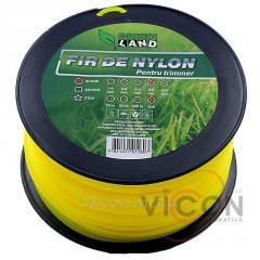 Леска для триммера GL-3.0x3 LB круглый Green Land