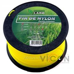 Леска для триммера GL-2,4x3 LB круглый Green Land