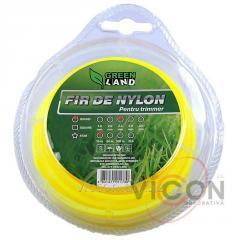 Леска для триммера GL-2,4 x 15 м, круглая Green Land