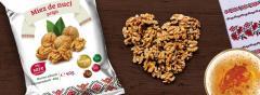 Сухофрукты, снэки, сушенные орехи, ядро ореха,