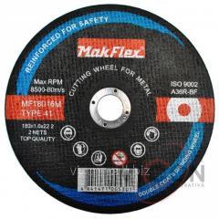 Диск по металлу MakFlex 180*1.6*22