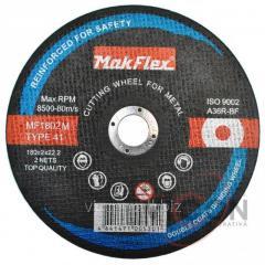 Диск по металлу MakFlex 180*2*22