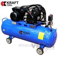 Компрессор 2200W 8 Bar KT100L2C KraftTool