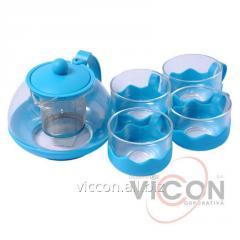 Заварочныи набор с чашками 750ml HLSETB