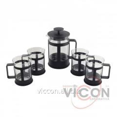 Заварочныи набор с чашками HLPset Hoffmuller