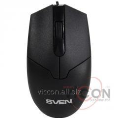 Проводная Мышка SVEN Optical Mouse RX-30 Black USB 2.0