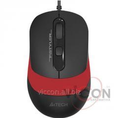 Проводная Мышка USB A4Tech FM10 USB Orange