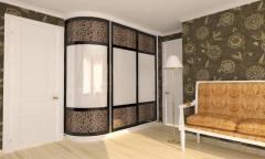 Радиусные Двери-Купе на заказ / Uși Glisante
