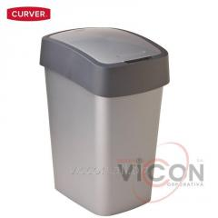 Ведро для мусора FLIP BIN CURVER, 25 л