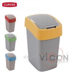 Ведро для мусора FLIP BIN CURVER, 10 л
