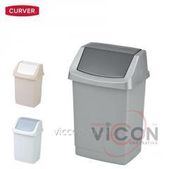 Ведро для мусора CLICK-IT CURVER, 15 Л