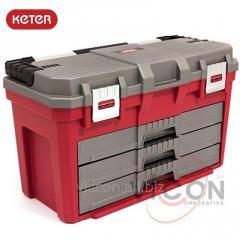 Ящик для инструмента KETER PORTABLE 3 DRAWER 23