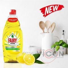 Жидкость для мытья посуды, FAIRY Extra+, 900 мл, Цитрусы