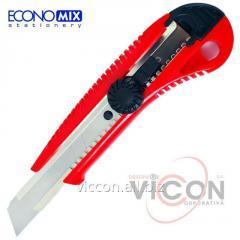 Нож 18 мм универсальный Economix, большой