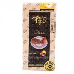 Фруктовый десерт TreiS с айвой  в плитках мягкий пакет 225 г