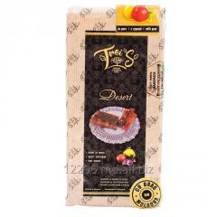 Фруктовый десерт TreiS с грушей  в плитках мягкий пакет 225 г