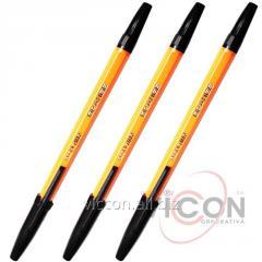 Ручка шариковая ORANGE, черный, ECONOMIX