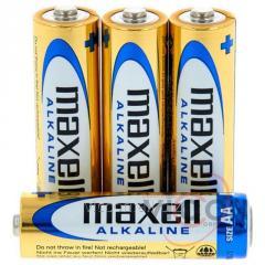 AA LR6 Maxell Щелочные батареи