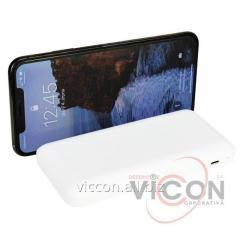 Мобильная батарея (Power Bank) 10 000 mAh, 2*USB output, 5V 2.1A, белая, Optima 4100