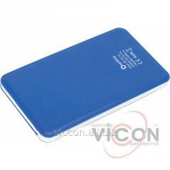 Мобильная батарея (Power Bank) 4 000 mAh, 5V 1.0A, синяя, Optima 4105