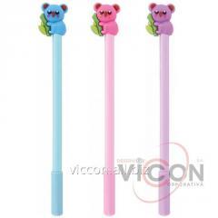 Ручка гелевая Koala, пишет синим
