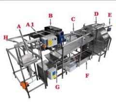 Автоматическая линия для откачки мёда PREMIUM