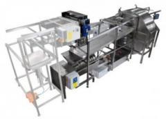 Автоматическая линия для откачки мёда CLASSIC