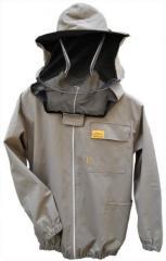 Куртка пчеловода с замком и лицевой сеткой OPTIMA Line
