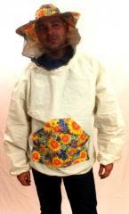 Куртка пчеловода с лицевой сеткой