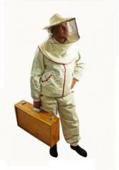 """Куртка пчеловода с лицевой сеткой """"Мелисса"""""""