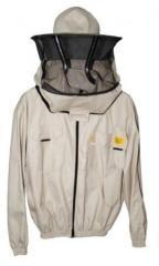 Куртка пчеловода с замком с лицевой сеткой CLASSIC