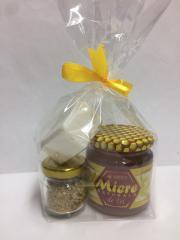 Подарочный набор эконом мёд липовый