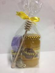 Подарочный набор мёд цветочный