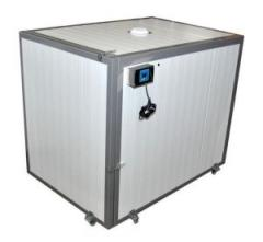 Камера для декристализации мёда на палете 1,2х1,2м.