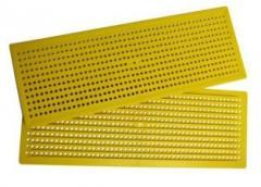 Решетка для пыльцы, широкая 408 х148 мм
