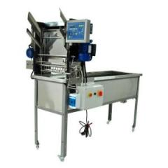 Стол для распечатывания с автоматической подачей рамок, 220 V - паровые ножи