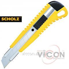 Нож канцелярский SCHOLZ 4502 металлическая