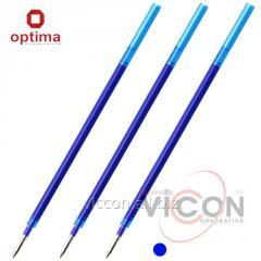 Стержень гелевый Optima CORRECT для ручки пиши-стирай, синий