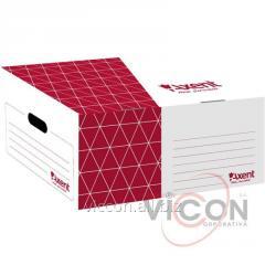 Короб для боксов архивных Axent 1734-06-A, красный