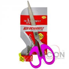 Ножницы 18,5 cm., RED DRAGONFLY F185A