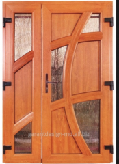 Двери межкомнатные двойные Стеклопакет в...